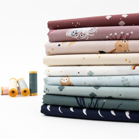 Jenny Ronen for Birch Organic Fabrics, Dreamer, Cloudy Mineral