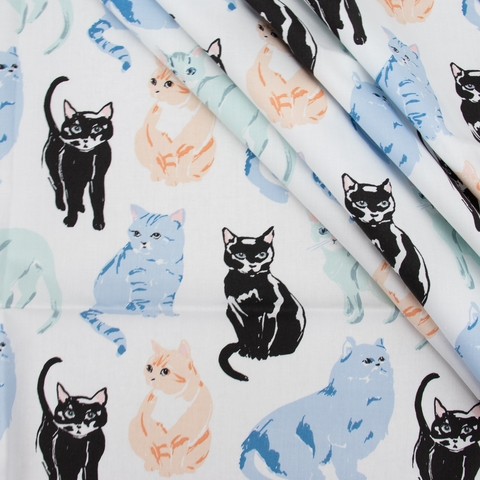 Jenny Ronen for Birch Organic, Kitty Garden, Miau