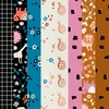 PREORDER NOW, Kimberly Kight for Ruby Star Society, Liana, Copper in FAT QUARTERS 8 Total
