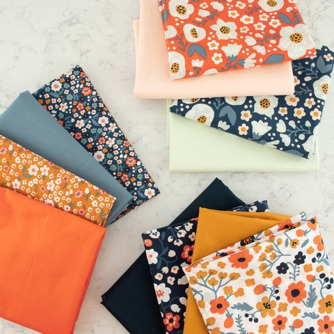 Kristen Balouch for Birch Organic, Bella Lawn Collection Bundle 12 Total