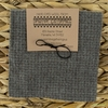 "Primitive Gatherings, Wool 5"" Charm Pack, Cement"