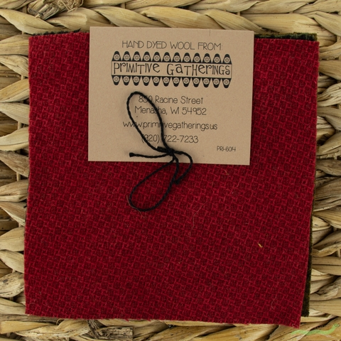 "Primitive Gatherings, Wool 5"" Charm Pack, Holiday"