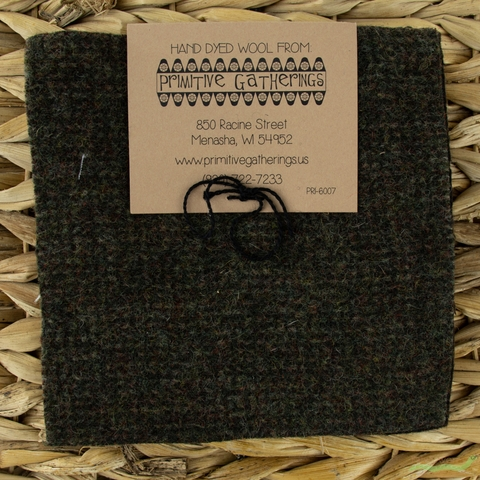 "Primitive Gatherings, Wool 5"" Charm Pack, Raven"