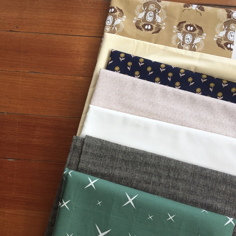 Half Yard Destash Bundle - White Rabbit - D31