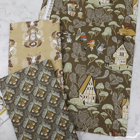 Rae Ritchie for Dear Stella, Black Forest, Acorns Toffee