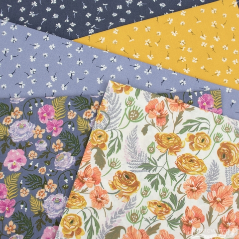 Rae Ritchie for Dear Stella, Botany, Tossed Dianthus Citrus