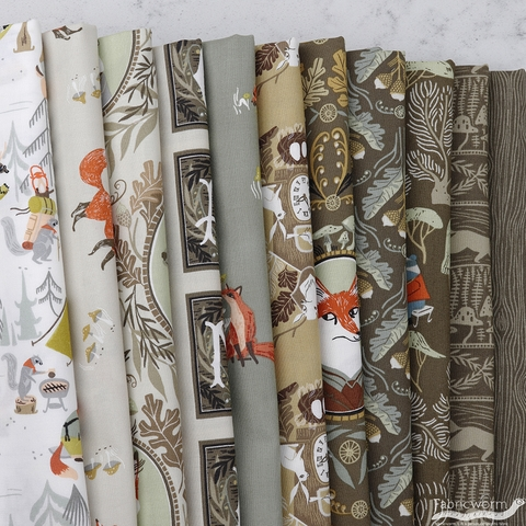Rae Ritchie for Dear Stella, Forest Wander in FAT QUARTERS 11 Total