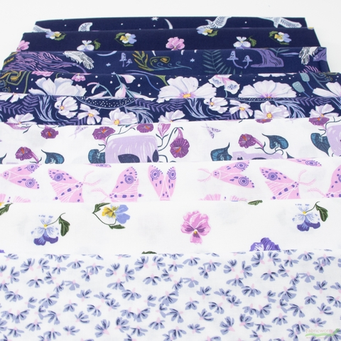 Rae Ritchie for Dear Stella, Ghostwood, Cone Flowers White