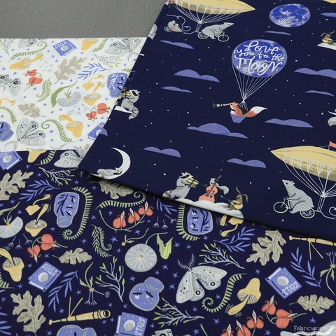 Rae Ritchie for Dear Stella, Love You to the Moon, Forest Stuff White