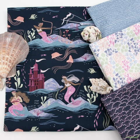 Rae Ritchie for Dear Stella, Sea Spell in FAT QUARTERS 7 Total