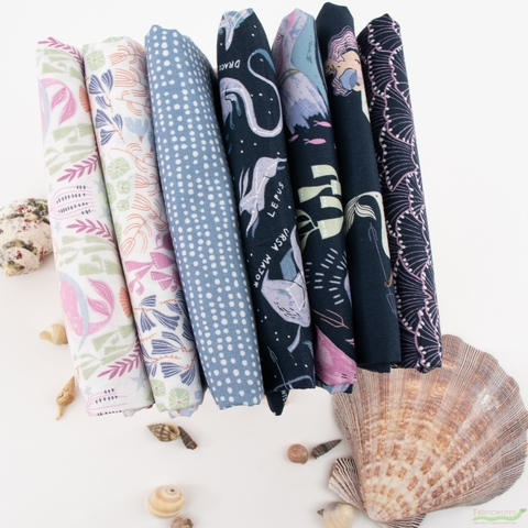 Rae Ritchie for Dear Stella, Sea Spell, Underwater Floral White