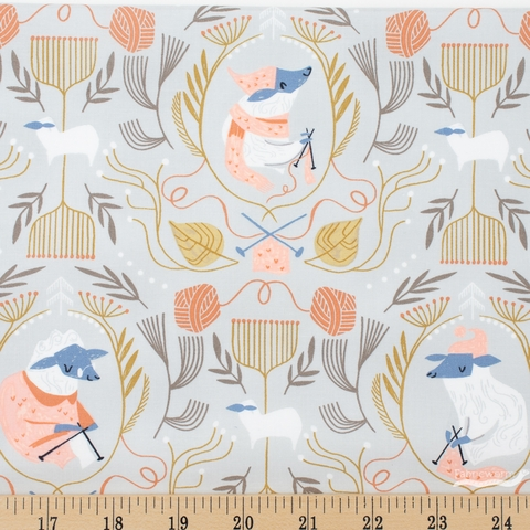 Rae Ritchie for Dear Stella, Sheepish, Sheepish Oatmeal