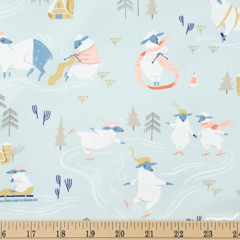 Rae Ritchie for Dear Stella, Sheepish, Snow Day Misty