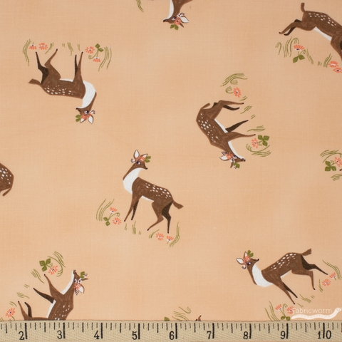 Rae Ritchie for Dear Stella, Strawberry Fields, Fawns Creampuff