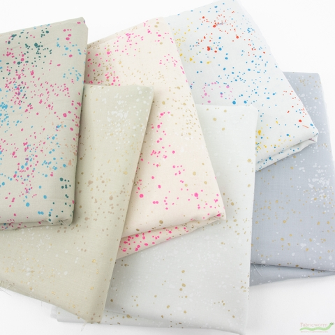 Rashida Coleman-Hale for Ruby Star Society, Speckled Metallic, Frosted in HALF YARDS 6 Total