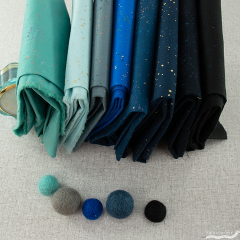 Rashida Coleman-Hale for Ruby Star Society, Speckled New, Cool Hues Bundle 8 Total