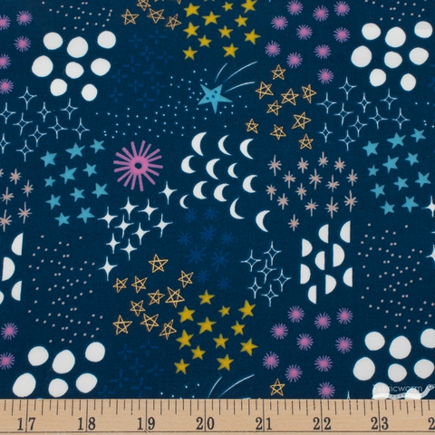 Rashida Colman-Hale for Ruby Star Society, Stellar, Final Frontier Metallic Dark Teal
