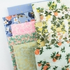 Rifle Paper Co. for Cotton and Steel, Les Fleurs, Birch Floral Periwinkle
