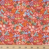 Rifle Paper Co. for Cotton and Steel, Meadow, Meadow Red