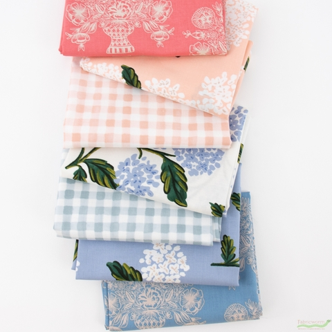 Rifle Paper Co. for Cotton and Steel, Meadow, Morning PRE-CUT in FAT QUARTERS 7 Total