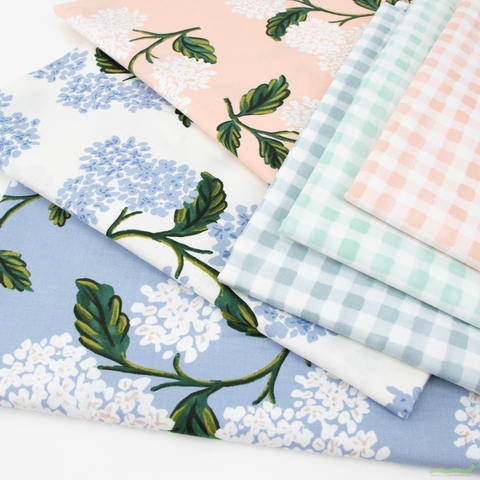 Rifle Paper Co. for Cotton and Steel, Meadow, Painted Gingham Mint