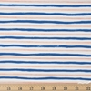 Rifle Paper Co. for Cotton and Steel, Meadow, Stripes Blue