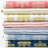 Rifle Paper Co. for Cotton and Steel, Meadow, Stripes Red
