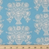 Rifle Paper Co. for Cotton and Steel, Meadow, Vase Block Print Blue Fat Quarter