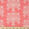 Rifle Paper Co. for Cotton and Steel, Meadow, Vase Block Print Coral Fat Quarter
