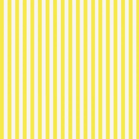 Rifle Paper Co. for Cotton and Steel, Primavera, Cabana Stripe Yellow