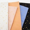 Rifle Paper Co. for Cotton and Steel, Primavera, Stars Peach Metallic