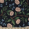 Rifle Paper Co. for Cotton and Steel, Wildwood, CANVAS, Peonies Blue
