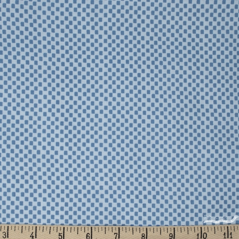 Rifle Paper Co. for Cotton and Steel, Wildwood, Checkers Blue