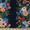 Rifle Paper Co. for Cotton and Steel, Wildwood, Garden Party Vines Navy