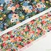 Rifle Paper Co. for Cotton and Steel, Wildwood, Petite Garden Party Cream