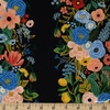 Rifle Paper Co. for Cotton and Steel, Wildwood, RAYON, Garden Party Vines Blue