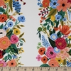 Rifle Paper Co. for Cotton and Steel, Wildwood, RAYON, Garden Party Vines Pink