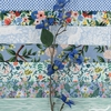 Rifle Paper Co. for Cotton and Steel, Wildwood, Wildflowers Blue