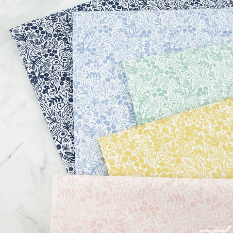 Rifle Paper Co. for Cotton + Steel, Basics, Tapestry Lace Gold Metallic