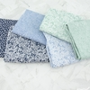 Rifle Paper Co. for Cotton + Steel, Basics, Tapestry Lace Periwinkle