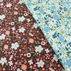 Rifle Paper Co. for Cotton + Steel, Garden Party, Wild Rose Blue Metallic
