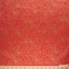 Rifle Paper Co. for Cotton + Steel, Holiday Classics, Menagerie Champagne Red Metallic