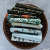Rifle Paper Co. for Cotton + Steel, Holiday Classics, Starry Night Mint Metallic