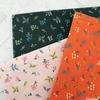 Rifle Paper Co. for Cotton + Steel, Strawberry Fields, Petites Fleurs Red