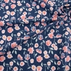 Riley Blake, Designer Jersey Knit, Midnight Rose Floral Navy Sparkle