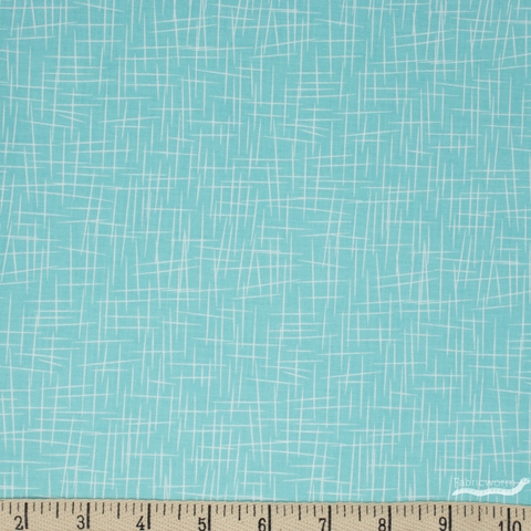 Riley Blake, Hashtag, Large Aqua