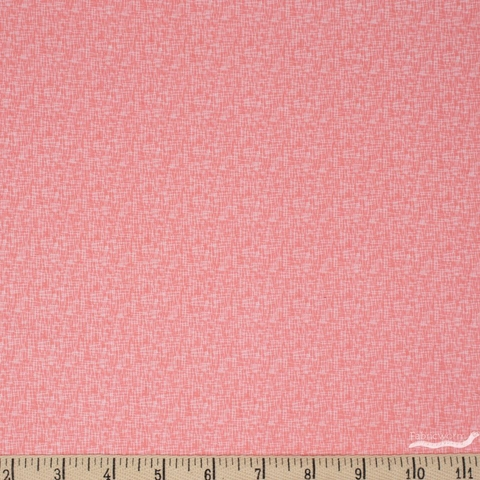 Riley Blake, Hashtag, Small Hashtag Coral Fat Quarter