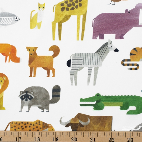 Robert Kaufman, A to Z Animals, Animals White