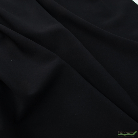 Robert Kaufman, Bi-Stretch Gabardine, Black