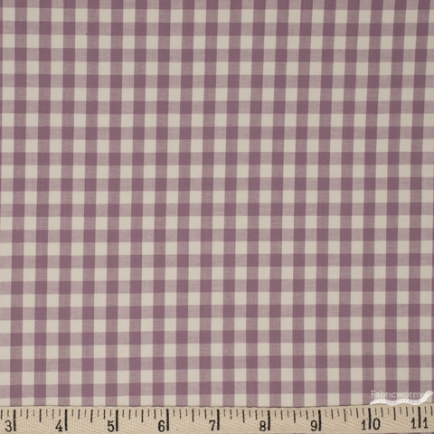 Robert Kaufman, Crawford Gingham, Violet
